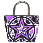 Purple Star Bucket Bag