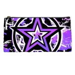 Purple Star Pencil Case