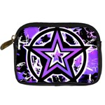 Purple Star Digital Camera Leather Case