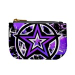 Purple Star Mini Coin Purse