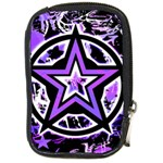 Purple Star Compact Camera Leather Case