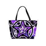 Purple Star Classic Shoulder Handbag