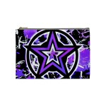Purple Star Cosmetic Bag (Medium)