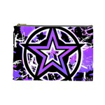 Purple Star Cosmetic Bag (Large)