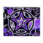 Purple Star Cosmetic Bag (XL)