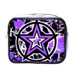 Purple Star Mini Toiletries Bag (One Side)