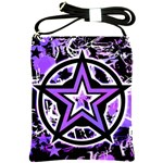 Purple Star Shoulder Sling Bag