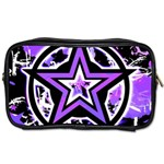 Purple Star Toiletries Bag (Two Sides)