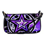 Purple Star Shoulder Clutch Bag
