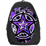 Purple Star Backpack Bag