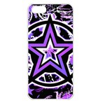 Purple Star Apple iPhone 5 Seamless Case (White)