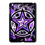 Purple Star Apple iPad Mini Case (Black)