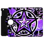 Purple Star Apple iPad Mini Flip 360 Case