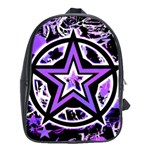 Purple Star School Bag (XL)