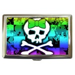 Rainbow Skull Cigarette Money Case