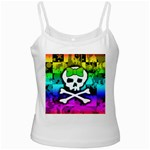 Rainbow Skull Ladies Camisole