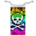 Rainbow Skull Jewelry Bag