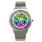Rainbow Skull Stainless Steel Watch
