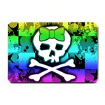 Rainbow Skull Small Doormat