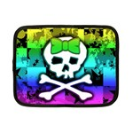 Rainbow Skull Netbook Case (Small)