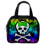 Rainbow Skull Classic Handbag (One Side)