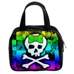 Rainbow Skull Classic Handbag (Two Sides)