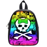 Rainbow Skull School Bag (Small)
