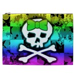 Rainbow Skull Cosmetic Bag (XXL)
