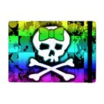Rainbow Skull Apple iPad Mini Flip Case
