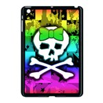 Rainbow Skull Apple iPad Mini Case (Black)