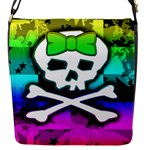 Rainbow Skull Removable Flap Cover (Small)