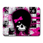 Scene Kid Girl Skull Small Mousepad