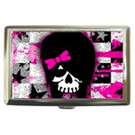 Scene Kid Girl Skull Cigarette Money Case