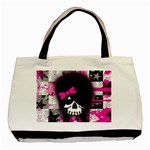 Scene Kid Girl Skull Classic Tote Bag