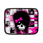 Scene Kid Girl Skull Netbook Case (Small)