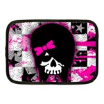 Scene Kid Girl Skull Netbook Case (Medium)