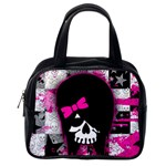 Scene Kid Girl Skull Classic Handbag (One Side)
