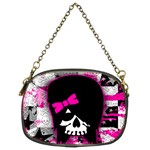 Scene Kid Girl Skull Chain Purse (Two Sides)