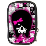 Scene Kid Girl Skull Compact Camera Leather Case