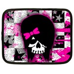 Scene Kid Girl Skull Netbook Case (XXL)