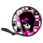 Scene Kid Girl Skull Classic 20-CD Wallet