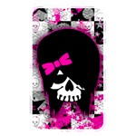 Scene Kid Girl Skull Memory Card Reader (Rectangular)