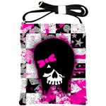 Scene Kid Girl Skull Shoulder Sling Bag