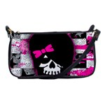 Scene Kid Girl Skull Shoulder Clutch Bag