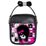 Scene Kid Girl Skull Girls Sling Bag