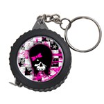 Scene Kid Girl Skull Measuring Tape