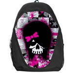 Scene Kid Girl Skull Backpack Bag