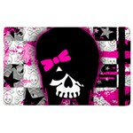 Scene Kid Girl Skull Apple iPad 3/4 Flip Case
