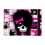 Scene Kid Girl Skull Apple iPad Mini Flip Case