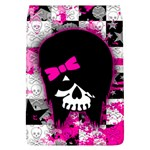 Scene Kid Girl Skull Removable Flap Cover (Large)